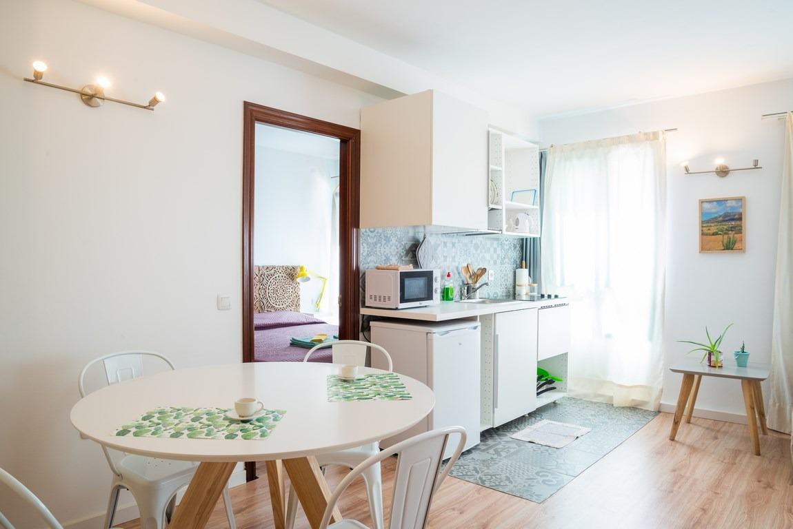 Refurbished one bedroom apartment