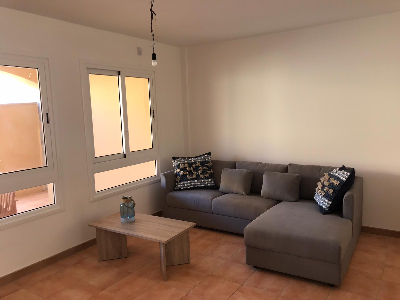Refurbished apartment with garden