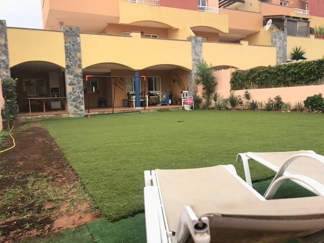 Appartamento con 3 camere e giardino privato