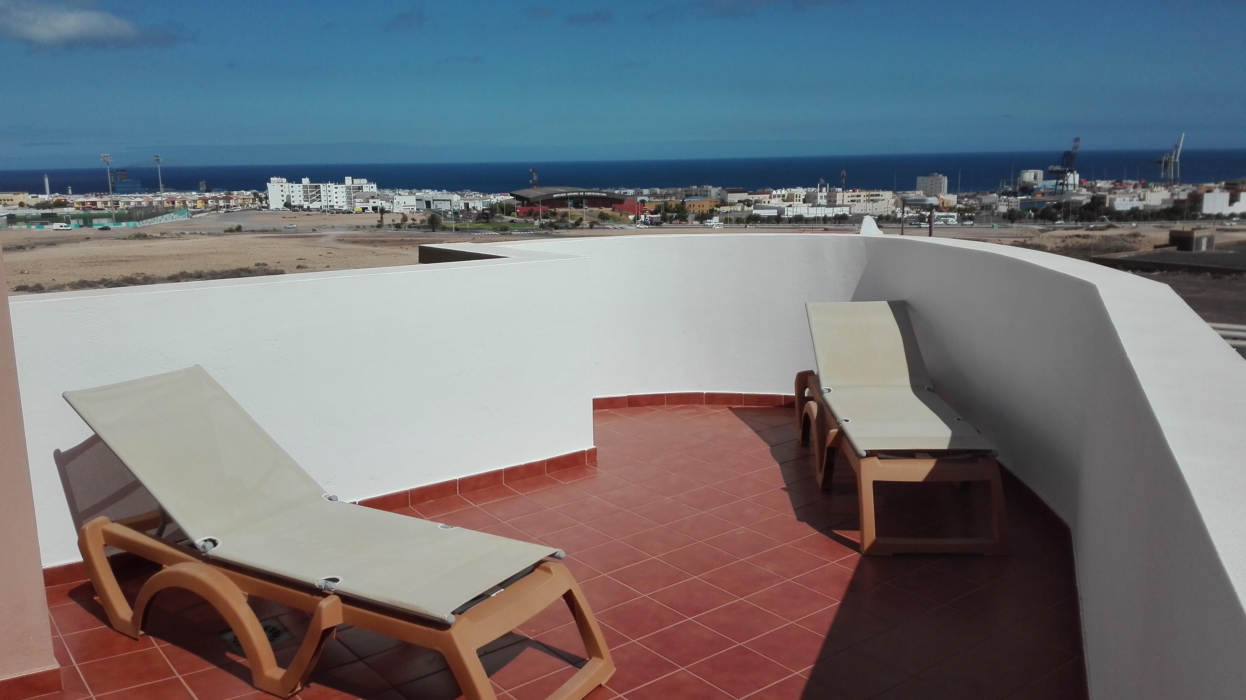 Sea view Duplex in Puerto del Rosario