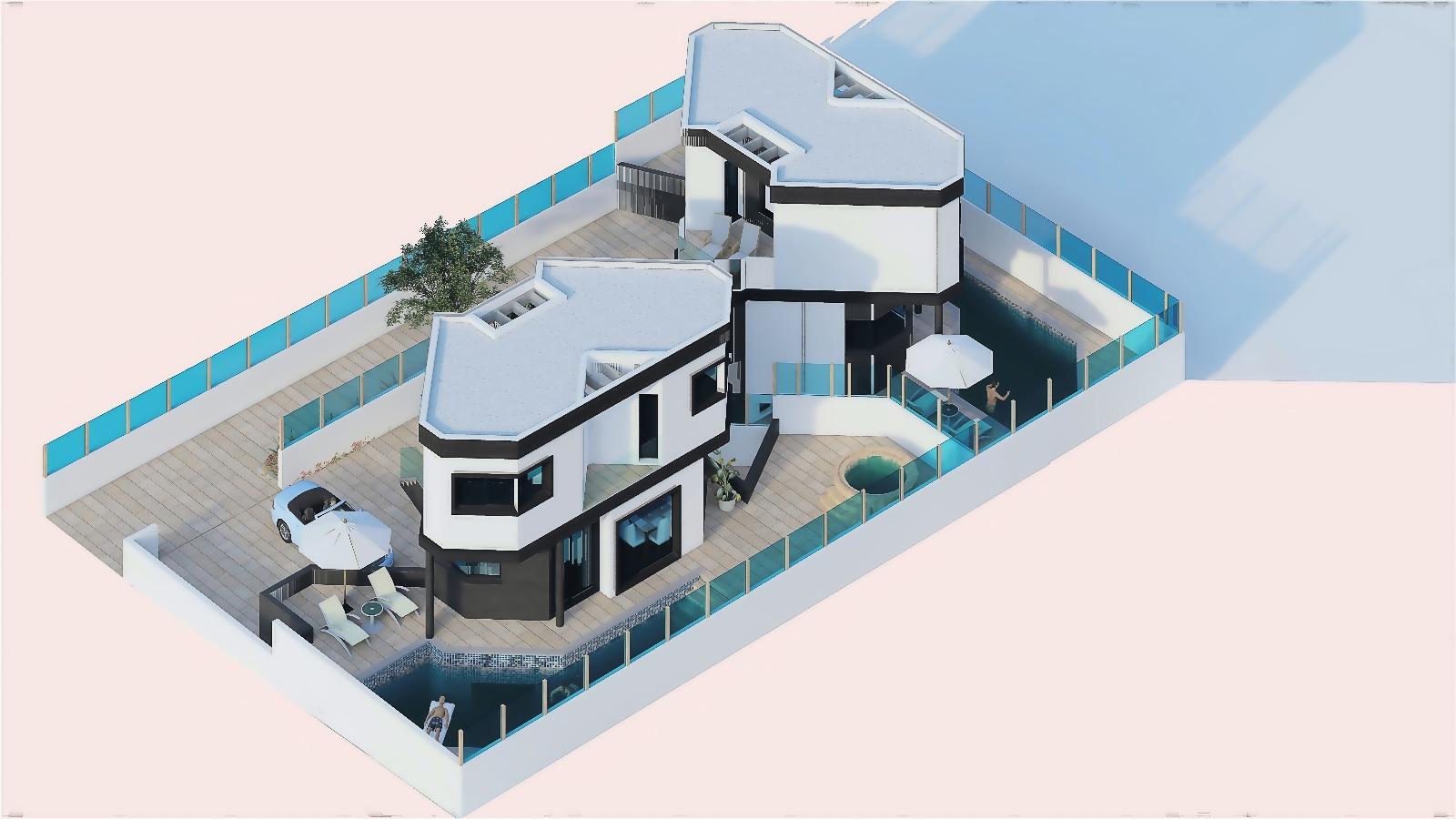 New project villas