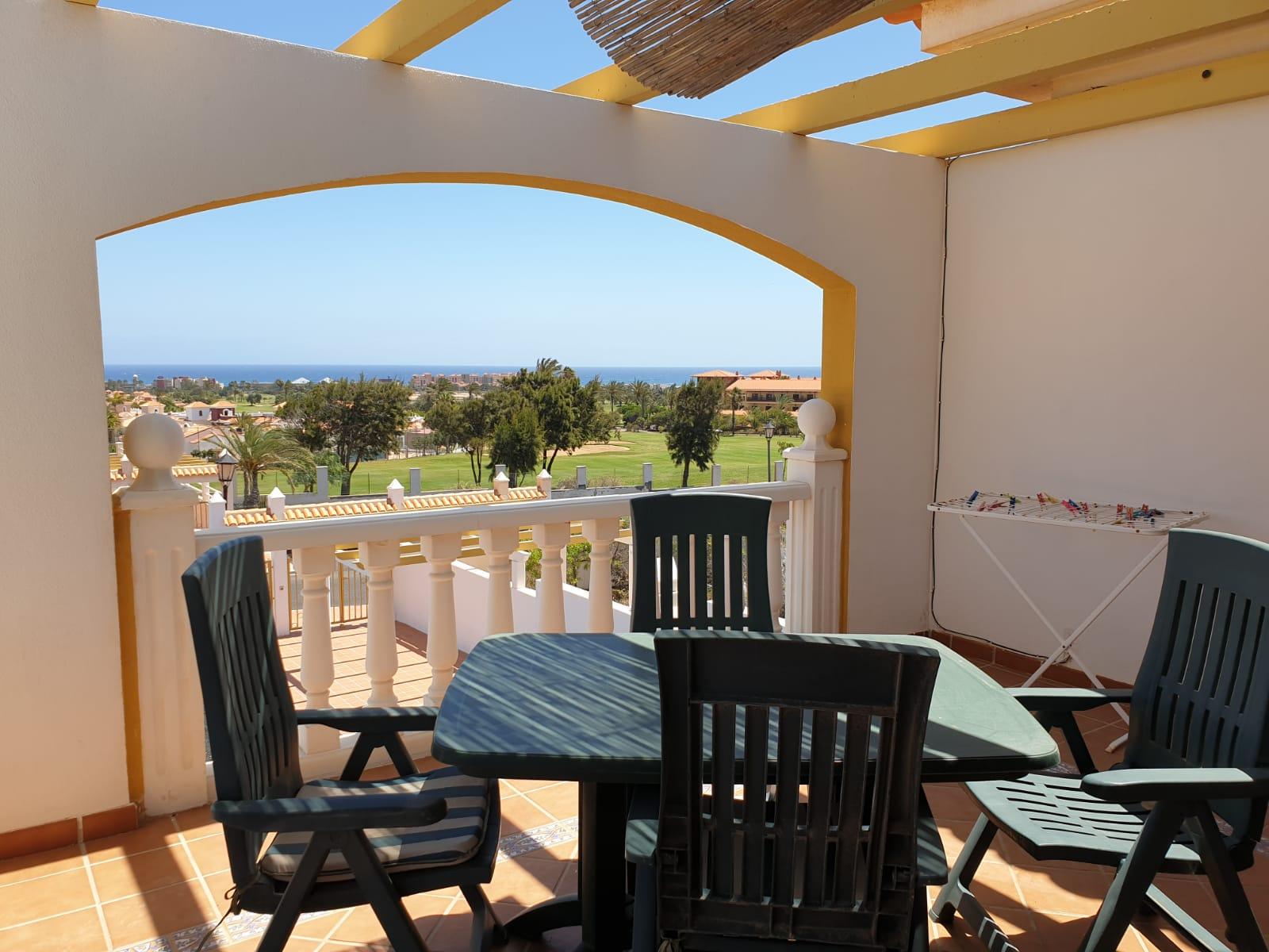 Golf and sea View apartment in Caleta de Fuste